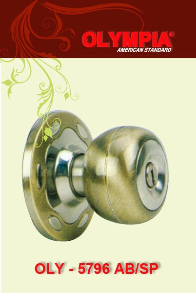 khóa cửa tay nắm tròn