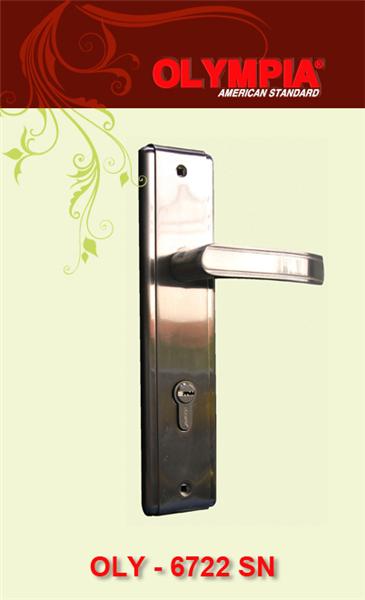 khóa cửa tay gạt INOX lớn