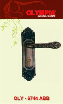 khóa cửa tay gạt đồng thau